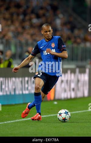 Juventus Stadium, Turin, Italy. 14th Apr, 2015. Champions League quarter-final first leg Juventus versus Monaco. - Stock Photo