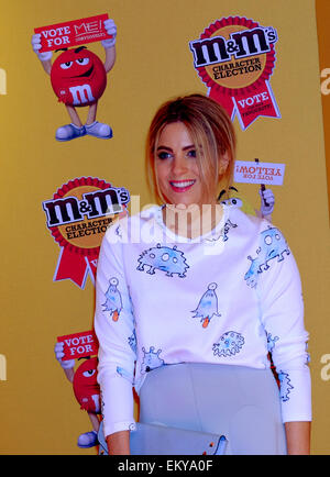 London, UK. 14th Apr, 2015. Olivia Cox. Talent arrive for M&M's Election party in Leicester Square. Credit:  Rachel - Stock Photo