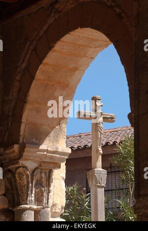 Romanesque Iglesia De San Clemente (St. Clement's Church); Segovia, Segovia Province, Spain - Stock Photo