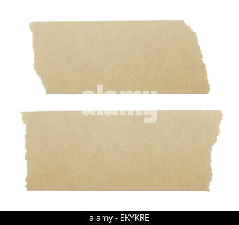masking tape isoletd on white background - Stock Photo