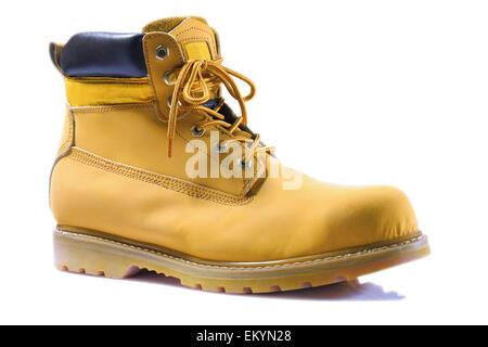 single working boot - Stock Photo