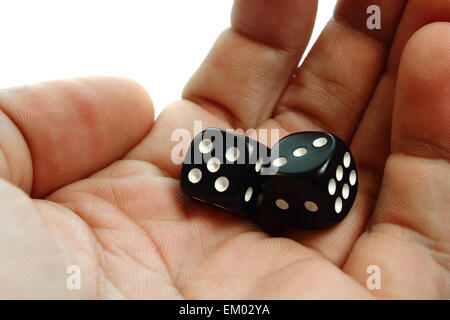 Two dices - Stock Photo