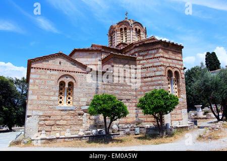 Church of the Holy Apostles - Stock Photo