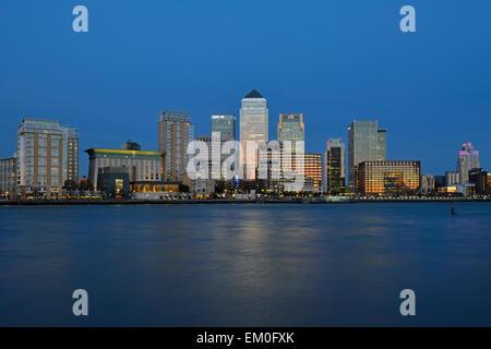 Canary Riverside, Canary Wharf Estate, Isle of Dogs, Docklands, London E14, United Kingdom - Stock Photo