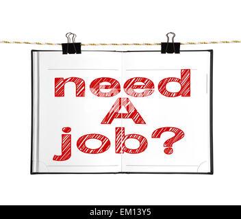 need a job - Stock Photo