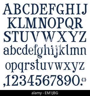 Creative Alphabet Letters Logo. Vector Letters. Colorful alphabet ...