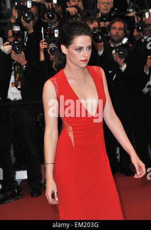 CANNES, FRANCE - MAY 25, 2012: Kristen Stewart at the gala screening of 'Cosmopolis' in Cannes. May 25, 2012 Cannes, - Stock Photo