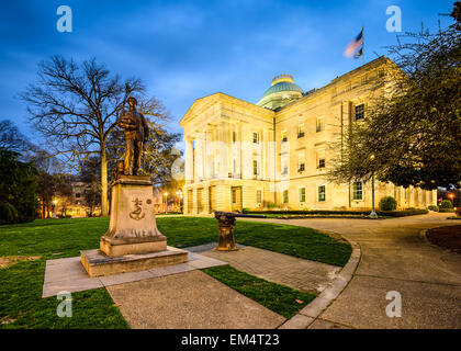 Raleigh, North Carolina, USA State Capitol Building. - Stock Photo