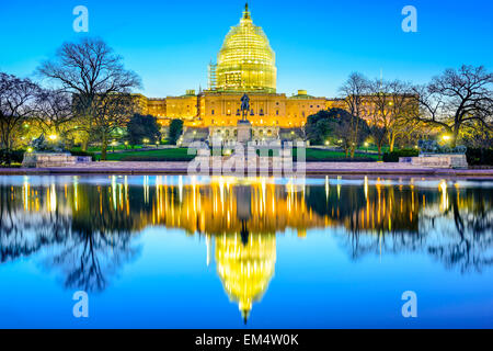 Washington, D.C. at the Capitol Building. - Stock Photo