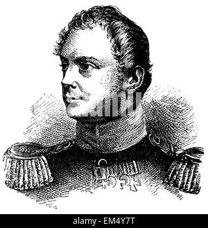 King Frederick William IV (born October 15, 1795 , died January 2, 1861 ) - Stock Photo