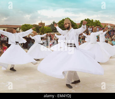 Whirling Dervishes; Konya, Konya Province, Turkey - Stock Photo
