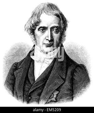 Karl Georg Maassen (born August 23, 1769 , died November 2, 1834 ) - Stock Photo