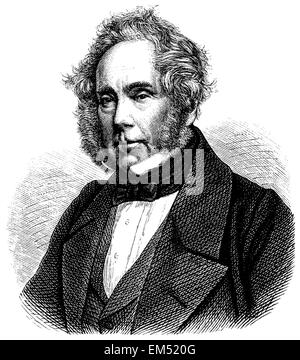 Henry John Temple, Viscount Palmerston (born October 20, 1784, died October 18, 1865) - Stock Photo