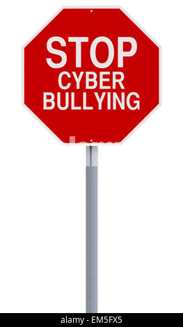 Stop Cyber Bullying - Stock Photo