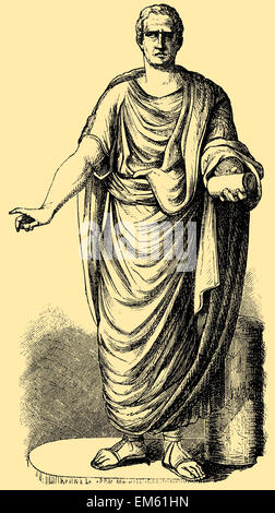 ancient rome and roman statesman cicero Roman statesman, lawyer, scholar, and writer marcus tullius cicero  born in  arpinum in 106 bc, cicero was educated in the capital and in greece, served in.