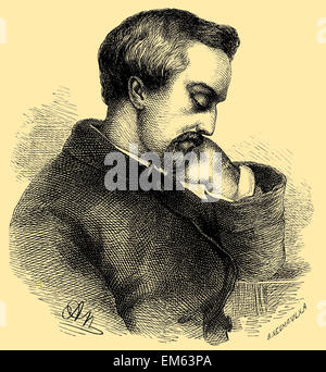 Heinrich Heine (1797–1856), German poet - Stock Photo