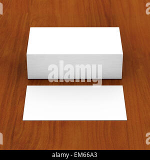 Business cards blank - Stock Photo
