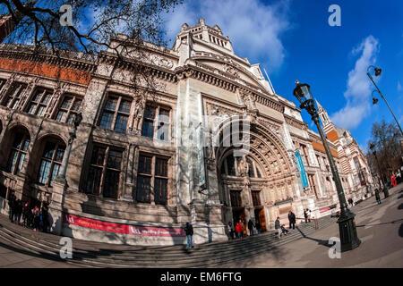 Victoria and Albert Museum, London - Stock Photo