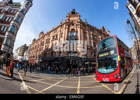 The Hippodrome Casino, Leicester Square, London - Stock Photo