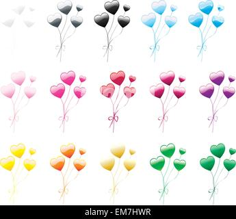 Heart Balloon - Stock Photo