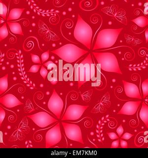 red colored pattern - Stock Photo