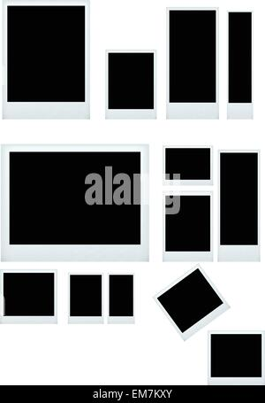 photo frame set - Stock Photo