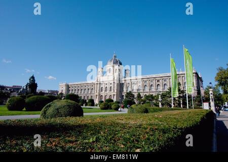 Kunsthistorisches Museum (Museum of the History of Art), Vienna (Wien), Austria - Stock Photo