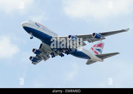 Boeing 747 (G-BYGE) British Airways - Stock Photo