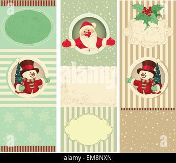 Christmas Banner Set - Stock Photo