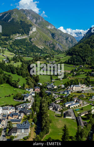 Gedre, Hautes Pyrenees, France - Stock Photo