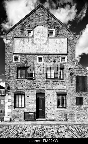 Building on Purfleet Quay Kings Lynn Norfolk UK - Stock Photo