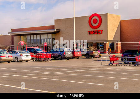 Building exterior of target retail store with sign and for Build on your lot oklahoma