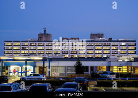 The Royal Preston Hospital provides a wide range of emergency, elective and specialist health-care services - Stock Photo