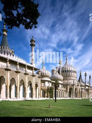 Royal Pavilion, Brighton, East Sussex, England, UK - Stock Photo