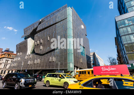 New York, NY USA, 41 Cooper Square, designed by architect Thom Mayne of Morphosis, is a nine-story, 175,000-square - Stock Photo
