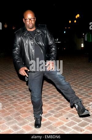 Los Angeles Fashion Week Spring/Summer 2015 - Art Hearts Fashion - Arrivals  Featuring: Bobby Brown Where: Hollywood, - Stock Photo