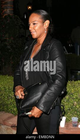 Los Angeles Fashion Week Spring/Summer 2015 - Art Hearts Fashion - Arrivals  Featuring: Jackie Christie Where: Hollywood, - Stock Photo