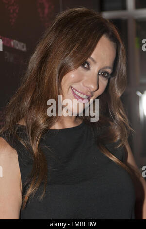 Spanish actress Natalia Verbeke presents the new 'PinkCow' soft drink at the Only You Hotel & Lounge Madrid  Featuring: - Stock Photo