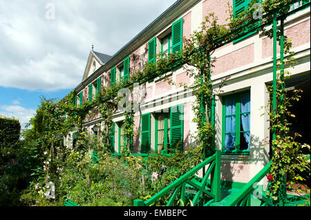 Claude Monet Haus  Giverny Departement Eure Frankreich Europa | Claude Monet Haus giverny departement eure france - Stock Photo