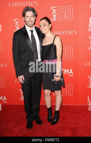 Los Angeles, CA, USA. 18th Apr, 2015. at arrivals for LACMA 50th Anniversary Gala, LACMA (Los Angeles County Museum - Stock Photo
