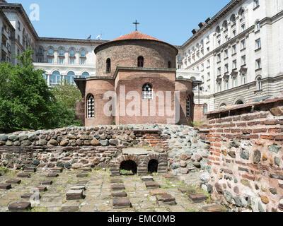 4th century Byzantine Roman rotunda Church of Agios ...