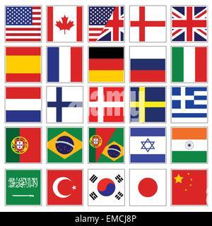 Flags - Stock Photo