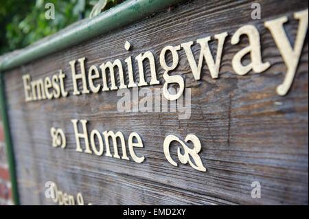 Ernest Hemingway home - Stock Photo