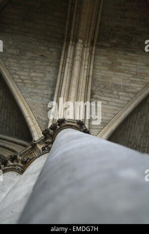 Church ceilings and windows - Stock Photo