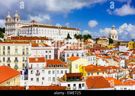 Lisbon, Portugal in the Alfama District. - Stock Photo