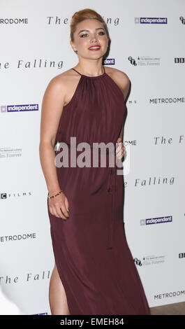 London, UK. 20th Apr, 2015. Florence Pugh attends the Gala Screening of 'The Falling' at Ham Yard Hotel. Credit: - Stock Photo