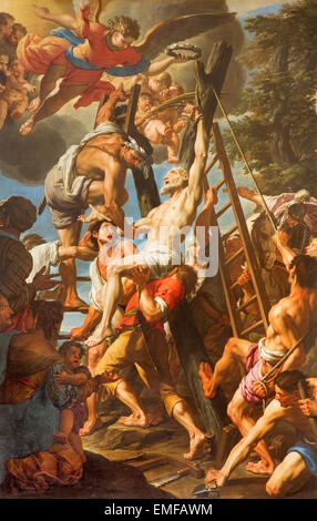 Michelangelo Crucifixion Painting