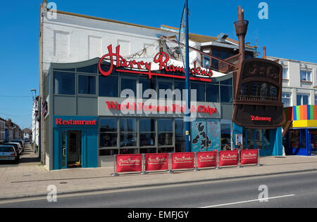 harry ramsden's fish and chips restaurant, great yarmouth, norfolk, england - Stock Photo