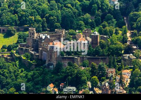 Heidelberg Castle, Baden-Württemberg, Germany Stock Photo
