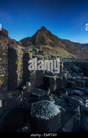Aird Snout over Giant's Causeway, Co. Antrim, Northern Ireland. - Stock Photo